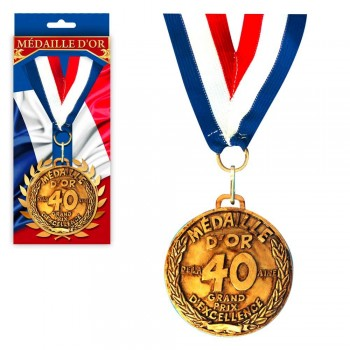MEDAILLE D OR ANNIVERSAIRE...