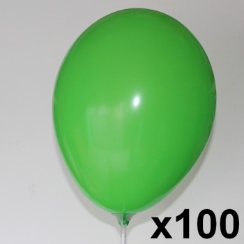 100-Ballons-biodegradables-28-cm-point-fetes-ballons-vert