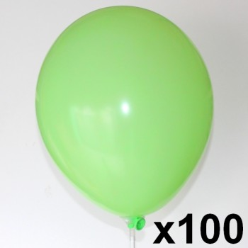 100-Ballons-biodegradables-28-cm-point-fetes-ballons-menthe