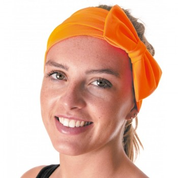 bandeau-avec-noeud-neon-orange