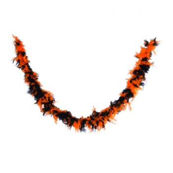 Boa-orange-et-noir-45-gr-Point-Fêtes-10045