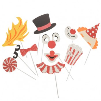 Kit-Photobooth-Circus-vintage-11-pièces-Point-Fêtes-79611