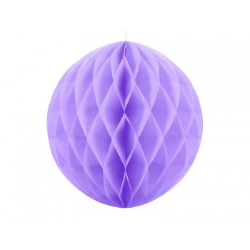 Boule-alvéolée-30cm-Lavande-Point-Fêtes-Party-Déco-KB20-004