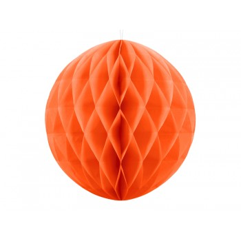 Boule-alvéolée-30cm-Orange-Point-Fêtes-Party-Déco-KB20-005