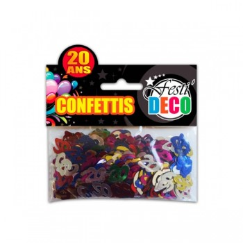 Confettis-Table-20-Ans-Point-Fêtes-Sud-Trading-CD5094-20