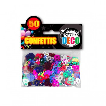 Confettis-Table-50-Ans-Point-Fêtes-Sud-Trading-CD5094-50
