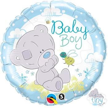 Ballon-aluminium-Baby-boy-Ourson-Point-Fêtes-Qualatex-28172