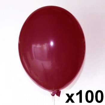 100-Ballons-biodegradables-28-cm-point-fetes-ballons-bordeaux
