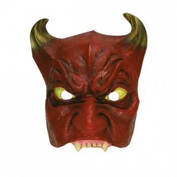 Demi-masque-Diable-latex-Point-Fêtes-36232