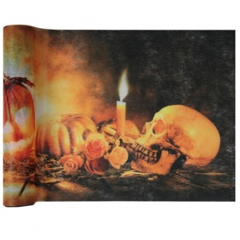 chemin-de-table-halloween-crane-et-citrouille-5-m