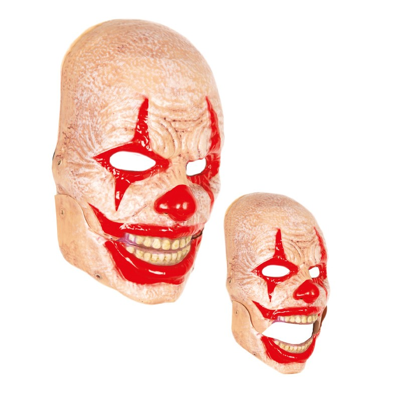 Masque-de-clown-à-bouche-mouvante