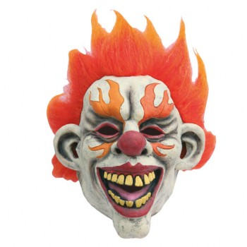Masque-de-clown-on-fire-semi-intégral-en-latex