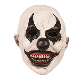 Masque-de-clown-halloween-noir-et-blanc-en-latex