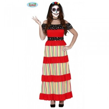 COSTUME MORT MEXICAINE...