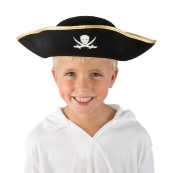 24700_Chapeau-Pirate-noir-galon-or-Enfant
