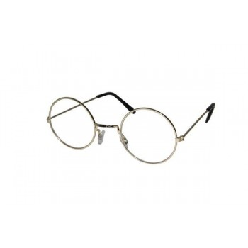 LUNETTES METAL RONDES OR...