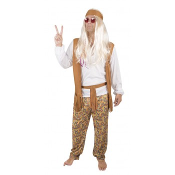COSTUME ADULTE HIPPIE HOMME...