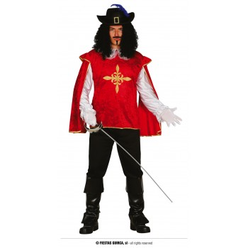 COSTUME MOUSQUETAIRE ROUGE...