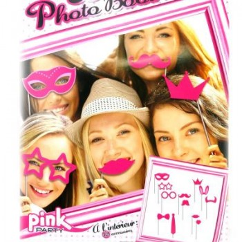PACK PHOTOBOOTH PINK PARTY