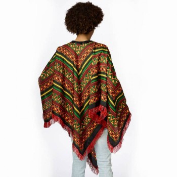 PONCHO MEXICAIN TAILLE UNIQUE