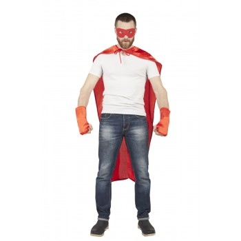 SET DE SUPER HEROS ROUGE