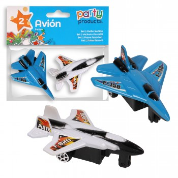 MINI AVION - 2 PIECES