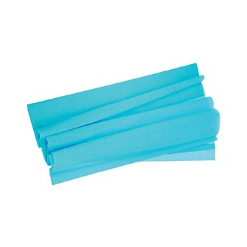 FEUILLE CREPON TURQUOISE 50...