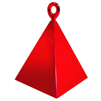 POIDS A BALLONS PYRAMIDE ROUGE