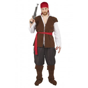COSTUME PIRATE - TAILLE S / M